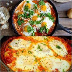 Confira esta deliciosa receita de ovos cozido no molho ⋆ I Love Food, Good Food, Breakfast On The Go, Kefir, Pasta, Veggie Recipes, Carne, Food Porn, Brunch