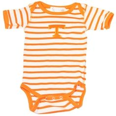 Tennessee Infant Onesie Stripe Lap-Shoulder
