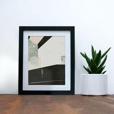 West 13th Street New York Geometric Abstract Print
