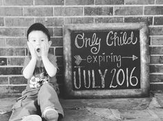 Pregnancy Announcement for Halle <3 Big Brother Cade was SO excited!