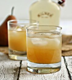 The Bourbon-Pear Ginger Snap