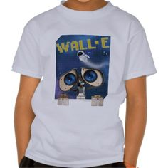WALL-E and Eve - Disney Kids T Shirt