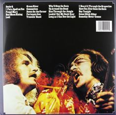 Chronicle: The 20 Greatest Hits   Chronicle: The 20 Greatest Hits (2-LP set) The original recordings from 1968-1970, including the classics  Susie Q ,  I Put a Spell on You ,  Proud Mary ,  Bad Moon Rising ,  Lodi ,  Green River ,  Commotion ,  Down on the Corner ,  Fortunate Son ,  Travelin' Band ,  Who'll Stop the Rain ,  Up Around the Bend ,  Run Through the Jungle ,  Lookin' Out My Back Door ,  Long as I Can See the Light ,  I Heard It Through the Grapevine ,  Have You Ever Seen ..