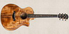 Taylor koa acoustic-electric guitar