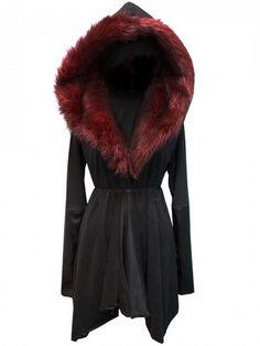 So beautiful, I hope that's fake fur...