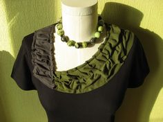 DEBORAH by Alis on Etsy, $32.00 I love cotton knit jersey, and this reconstructed T is great dressed up or down!