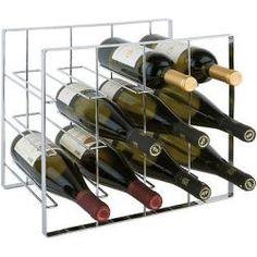 Wein-Regal aus Metall 12 Flaschen / Inklusive Verbindungsklammern * 1A Qualität*