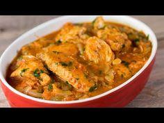 Pui la ceaun - cea mai delicioasă și aromată rețetă georgiană de ragu. | SavurosTV - YouTube Romanian Food, Food Videos, Curry, Cooking, Ethnic Recipes, Plum Sauce, Sauces, Whole Chickens, Diet