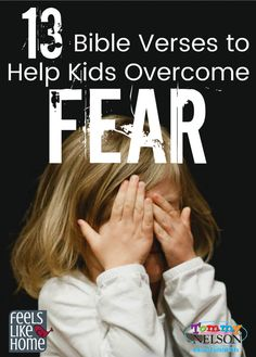 Bible Verses to Help Kids Overcome Fear