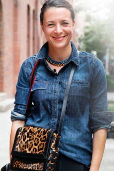 Preetma Singh New York Fashion Week Street Style - Spring 2013 Street Style - ELLE