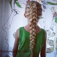 I've practised pancaking braids... What do you think?