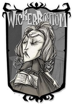 Wickerbottom   Don't Starve Together Character Portraits