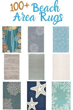 Discover the best coastal themed area rugs and beach style area rugs for your beach home. We have indoor and outdoor beach area rugs that can be used all over your home. Beach Style Area Rugs, Ocean Rug, Coastal Rugs, Cotton Crafts, Square Rugs, Rectangle Area, Large Area Rugs, Ocean Themes, Kids Rugs