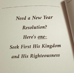 Here's a New Year's Resolution you can have, lets go!!!