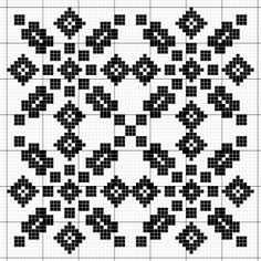 koginzuan31b修 Weaving Patterns, Tile Patterns, Textures Patterns, Knitting Patterns, Hardanger Embroidery, Hand Embroidery, Embroidery Designs, Needlepoint Patterns, Cross Stitch Patterns