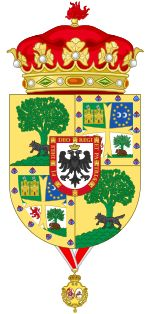 Coat of Arms of Jaime de Marichalar as Duke of Lugo (1995-2010)