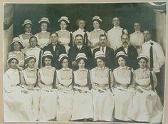 Nursing School Graduation Photograph 1910 (Includes Male Graduates)