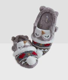 Cute puppy /& bunny velours /& Polaire Doublé Chaussons par toucher doux