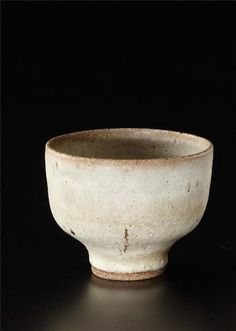 Bowl, Stoneware, matte light gray glaze with delicate manganese speckles. 5 in. (12.7 cm.) diameter, c.1972