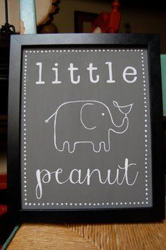 Items similar to Nursery Art Custom Hand Painted Chalkboard Sign on Etsy Nursery Themes, Nursery Art, Girl Nursery, Nursery Ideas, Nursery Signs, Elephant Shower, Elephant Theme, Elephant Baby Decor, Elephant Canvas