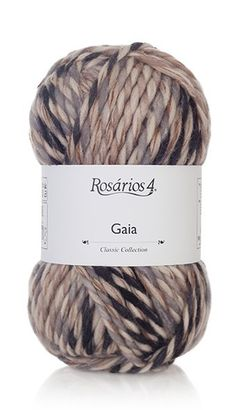 Yarn: Gaia. Composition: 75% lã + 25% acrylic.  Needles: 9 - 10 (USA 13-15) Weight: 100 g = 65 m | 3.50 oz = 71 yds