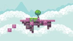 nice environment pixel art