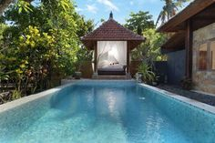 Villa Sukanta Padangbai Offering an outdoor pool and views of the pool, Villa Sukanta is set in Padangbai in the Bali Region. Padangbai Bay is 1.1 km from the property. Free private parking is available on site.  The accommodation is equipped with a seating and dining area.