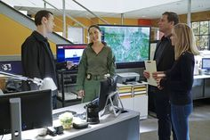 McGee, NCIS Special Agent Valerie Page, DiNozzo, & Bishop