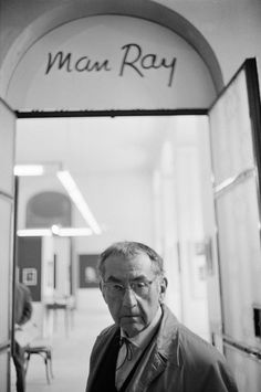 Man Ray, 1962 by André Morain
