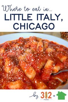 Little Italy Chicago Restaurants -- a Chicago city guide by Best Italian Recipes, Mexican Food Recipes, Chicago Italian Restaurants, Italian Food Chicago, Italian Butter Cookies, Chicago City, Chicago Trip, Chicago Lake, Chicago Travel