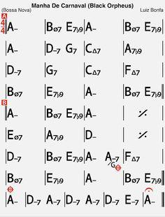 Black Orpheus - Backing Track [50 Jazz Standard Every Jazz Musician Need to Know] Black Orpheus, Jazz Standard, Backing Tracks, Double Bass, Jazz Musicians, Need To Know, Musica, Bass