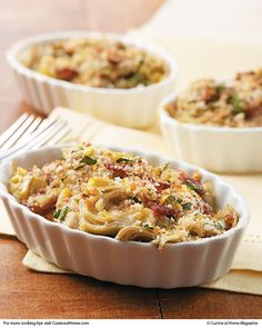 Artichoke Gratins - just sent this recipe to Sissy for Easter brunch.  Bacon, cheese and artichokes...YUM!!!