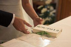 Libro porta fedi / rings book wedding