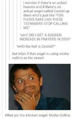 Misha Collins - Castiel