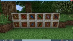 I'm playing FTB Mage Quest now and I discovered something... Up: Shards from Thaumcraft Down: Slivers from Automagy