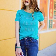 Tacos, por favor!  It's Cinco de Mayo, and I've got  on my mind. Who's with me? This graphic tee (only $9!) is perfect for today's fiesta + all those taco Tuesdays in the future.  Get the shop-able details by clicking the link in my profile or via @liketoknow.it  http://liketk.it/2rgk0. You can also shop this post by taking a screenshot with the new LIKEtoKNOW.it app.  P.S. I'm in love with these high waisted Levi's. They go with everything. #LTKStyleTip #LTKUnder50 #LTKSaleAlert #lik...