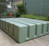 water storage container designed to go under a deck!