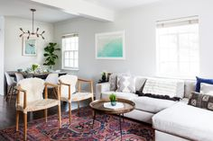 You can take the couple out of the West Coast, but you can't take the West Coast out of the couple. Homepolish's Hope Scully helped a family achieve California serenity in a suburb just outside of New York City.