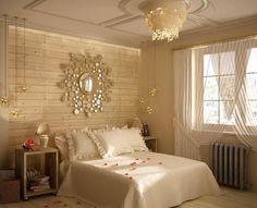 غرفة نوم رومانسية كلاسيكية الطراز