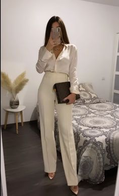 Cute Comfy Outfits, Casual Fall Outfits, Classy Outfits, Spring Outfits, Feminine Dress, Classy Dress, Work Attire Women, Look 2018, Girl Fashion