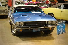 1970 Dodge Challenger R/T Convertible at MCACN 2015.