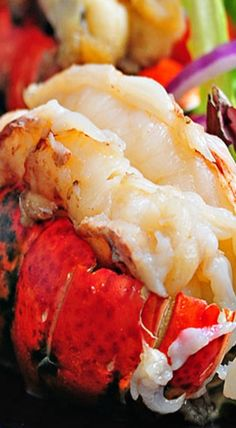Smoked Lobster Tails Recipe _ I was craving this for a while & then low & behold if it didn't blow me away when I tasted it again. Seriously. If you enjoy lobster in any way, shape or form, then this smoked lobster tails recipe is absolutely for you!