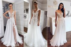 55 Lace Wedding Dresses from Tomsebastien_official Short Lace Wedding Dress, Wedding Gowns, Off White Dresses, Formal Dresses, Timeless Wedding, Bride Look, Bridal Dresses, Art Designs, Design Ideas