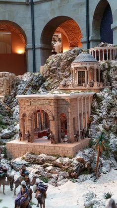 Art in Bethlehem: Belén 2015 Community of Madrid - Oscar Wallin 40k Terrain, Wargaming Terrain, Army Bedroom, Mandir Design, Nativity Stable, Diy Table Top, Isometric Art, Christmas Nativity, Most Beautiful Pictures