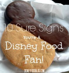 10 Signs You Might Be a Disney Food Fan
