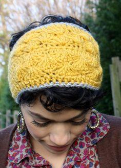 Mustard Yellow Crochet Headband. $12.00, via Etsy.