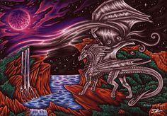 Dragoness of wind by Selianth.deviantart.com on @DeviantArt