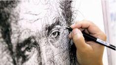 Por el Amor del Art-E: El arte del garabato Benjamin Shine, Vince Low, Celebrity Portraits, Scribble, Graphic Design Inspiration, Doodles, Celebrities, Drawings, Amazing