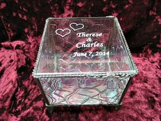Pretty cool alternative Ring Bearer Pillow Alternative Stained Glass by shopworksofglass, $48.00