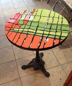 Table Bistrot 60 cm de diamètre - VENDU #装飾のアイデア #家の装飾のアイデア #自分でやれ #室内装飾 #庭の装飾 #家の装飾のアイデアのリビングルーム